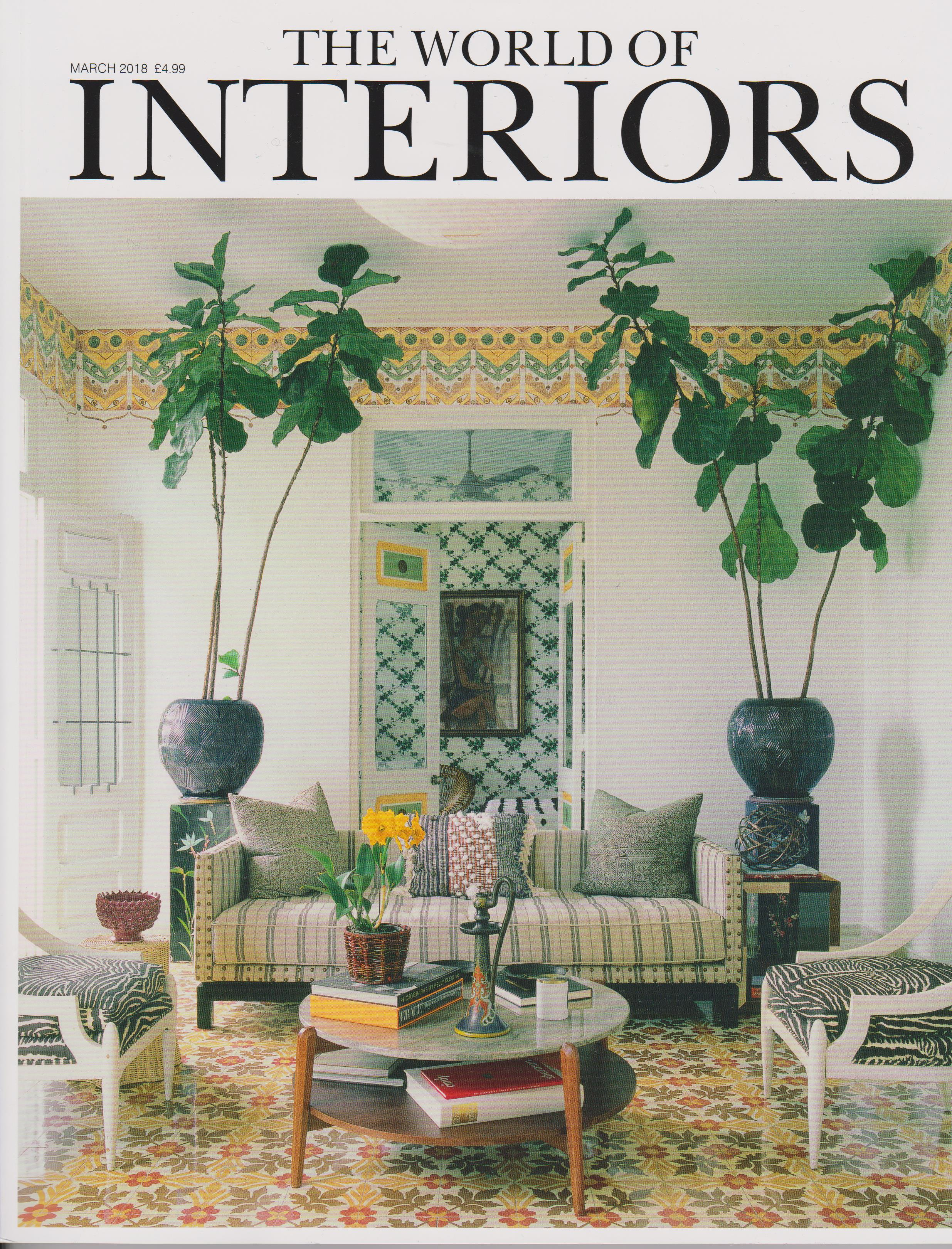 World of Interiors, March 2018